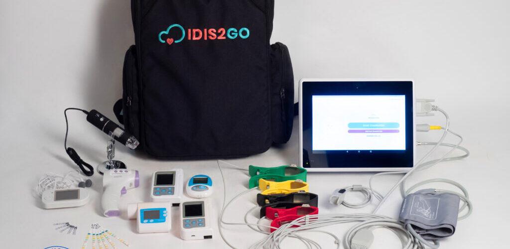 IDIS2GO bagpack